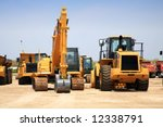 construction equipment - stock photo
