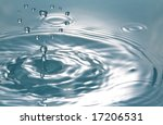 liquid heart - stock photo