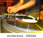 Dj - stock photo