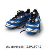 Football shoes - stock photo