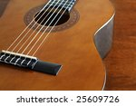 a guitar - stock photo