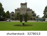 Larnach Castle - stock photo