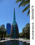 Bell Tower - Perth, Australia - stock photo
