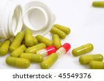 Product of pharmaceutical industry - stock photo
