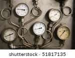 Gauges - stock photo
