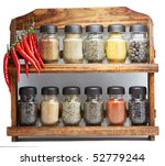 Seasonings - stock photo
