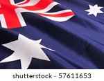 Flag of Australia - stock photo