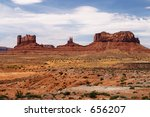 Monument Valley, Utah - stock photo