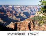 Grand Canyon, USA - stock photo