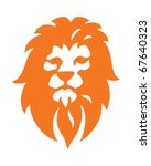 Lion Icon - stock vector