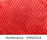 red textile pattern - stock photo