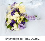 bouquet of bride - stock photo