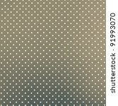 Dotted green-grey background - stock photo