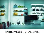 Fashion store - stock photo
