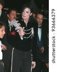 08MAY97:  MICHAEL JACKSON at the 1997 Cannes Film Festival. - stock photo