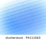 binary numbers - stock photo
