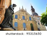 Trefoldighetskirken (Holy Trinity Church), Oslo. Norway - stock photo