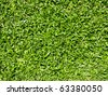 Close up of natural grass texture - stock photo