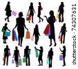 People - Women Shopping No.2. - stock photo