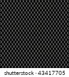Classic steel wire fence background vector. Also available in raster. - stock vector