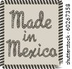 Made in Mexico - stock vector