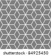 Seamless geometric pattern. Vector art. - stock vector