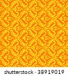 Seamless Texture Vintage wallpaper - stock vector