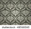 Seamless Wallpaper Background, vector - stock vector