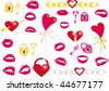 Valentine`s day vector - stock vector